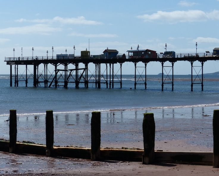 Teignmouth pier looking west