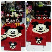 karpet raspur mickey mouse