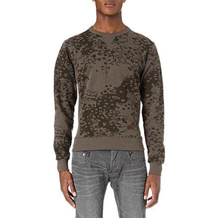 G-Star Union Jersey Sweatshirt: Smoke Green