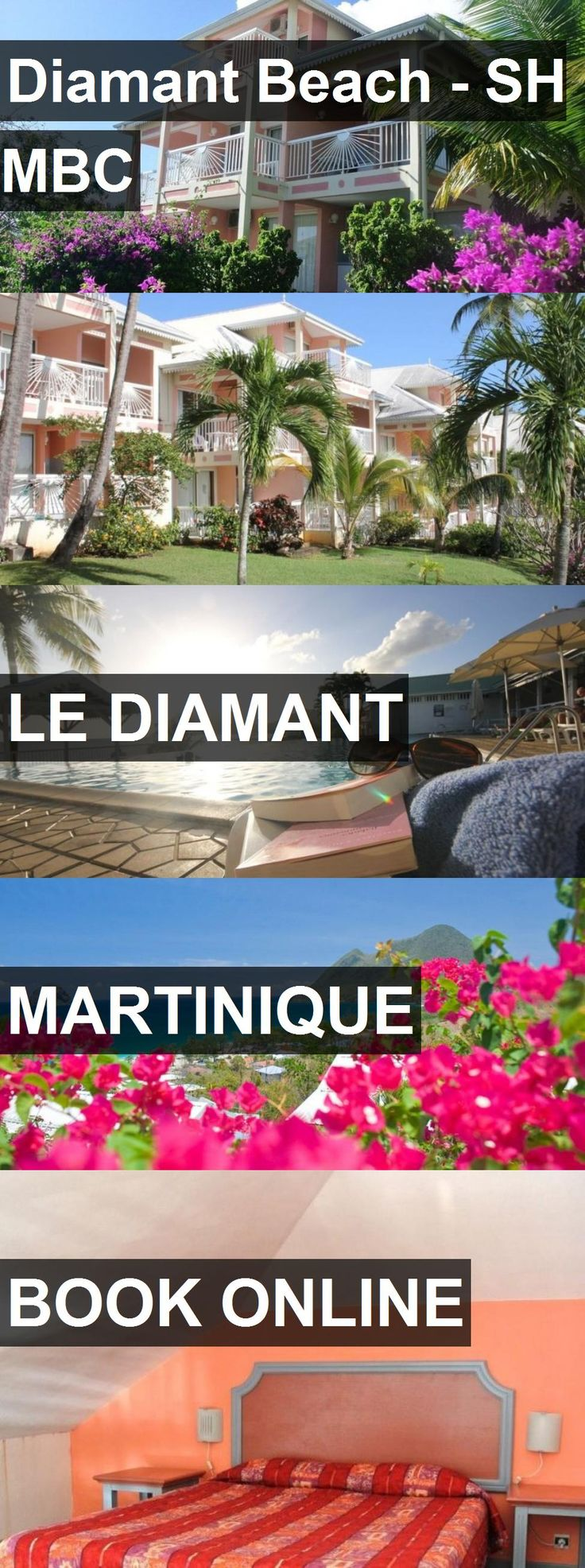 Hotel Diamant Beach - SH MBC in Le Diamant, Martinique. For more information, photos, reviews and best prices please follow the link. #Martinique #LeDiamant #travel #vacation #hotel
