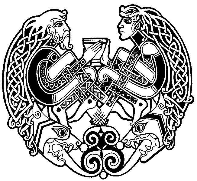 les 25 meilleures id es de la cat gorie tatouage nordique sur pinterest symboles viking rune. Black Bedroom Furniture Sets. Home Design Ideas