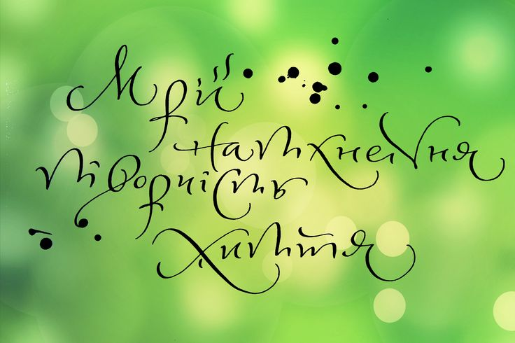 #monkeyART #майстернякаліграфії #calligraphy #скоропись #каллиграфия