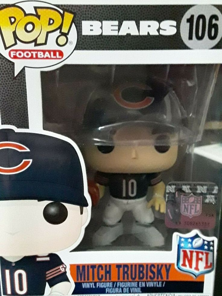 NFL Chicago Bears Mitchell Trubisky or Mike Ditka Da