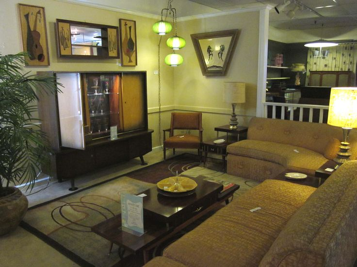Mid Century living room display - 60 Best Midway Antique Mall Sacramento, CA Images On Pinterest