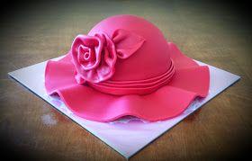 Cake Blog: Super Easy Hat Cake Tutorial