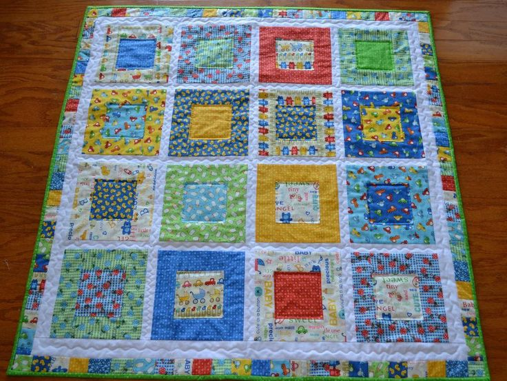 10 best boys baby quilt images on Pinterest | Babies, Baby girls ... : handmade baby boy quilts - Adamdwight.com