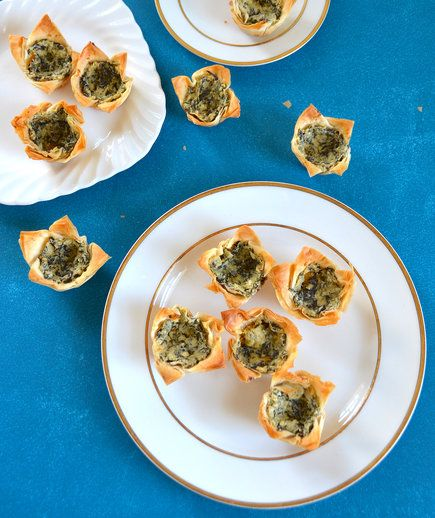 Spinach and Artichoke Phyllo Cups | Turn that novelty bakeware into a kitchen workhorse.