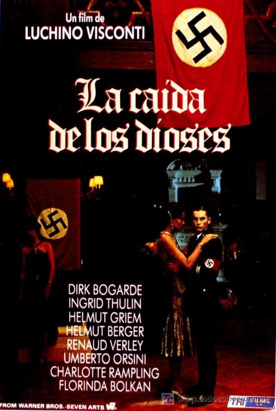 La caída de los dioses (1969) Italia. Dir: Luchino Visconti. Drama. Nazismo - DVD CINE 416