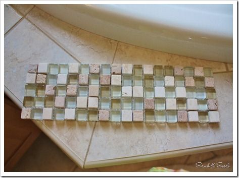 Add a Glass & Stone Tile Border Stone tiles, Money and