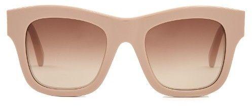 STELLA MCCARTNEY Wayfarer square-frame sunglasses