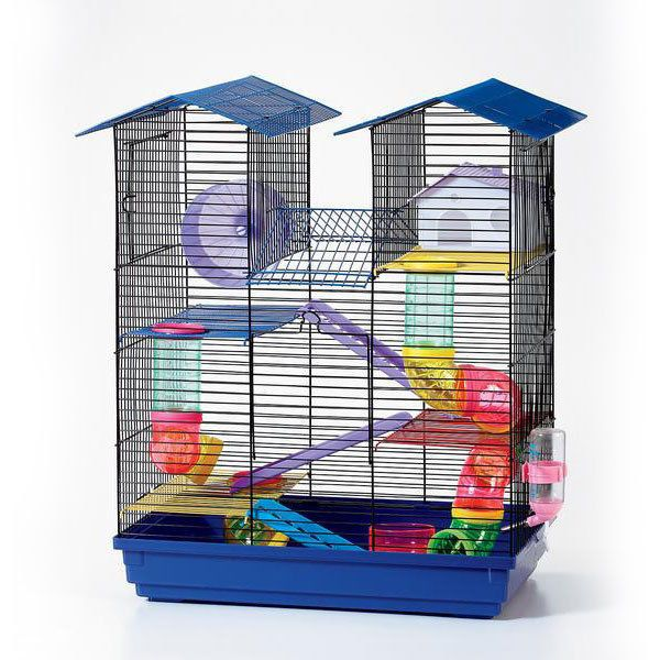 House Design Hamster Cage House for Mice Rodent Mouse Pet