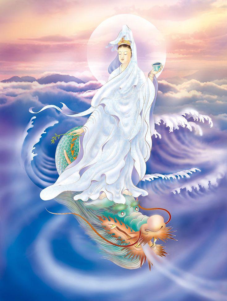 """Гуаньинь """"та, что внимательно смотрит, наблюдает или слушает звуки мира"""""""