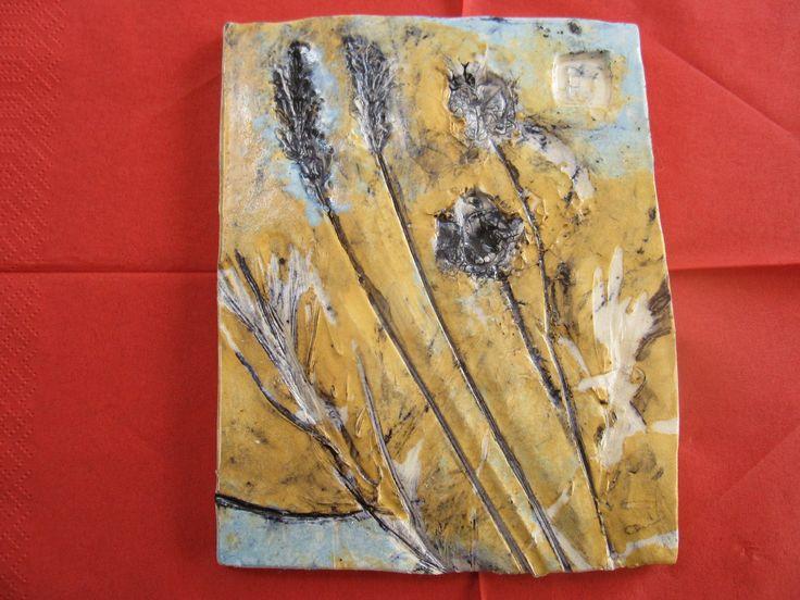 my ceramic tile. for sale on etsy.com/shop/brigolettasart
