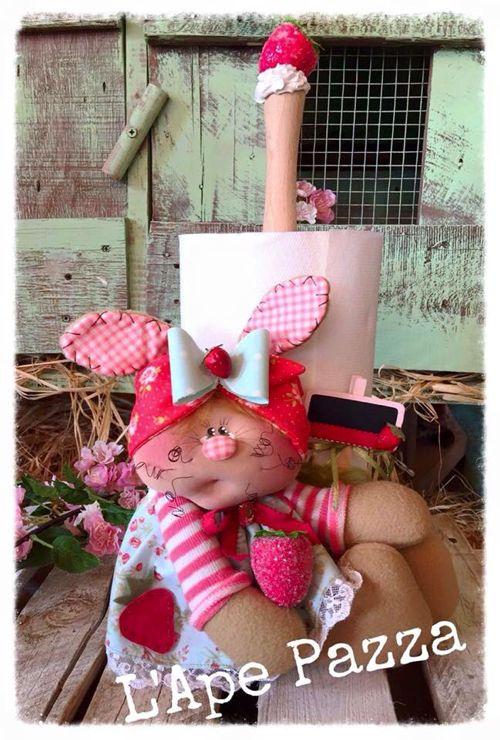 Cartamodelli Conigli primavera 2016 : Cartamodello portascottex di Ester