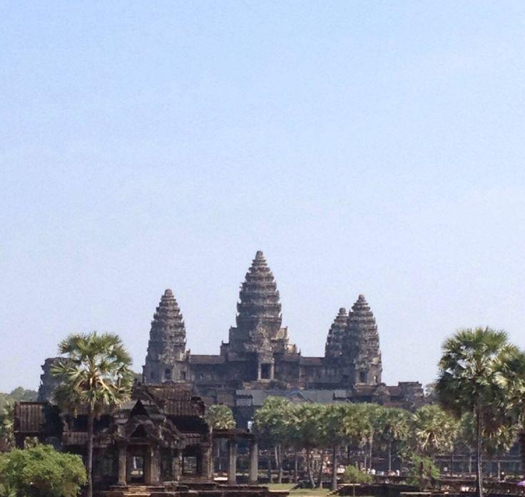Templo de Angkor Wat, Cambodia by Marcela