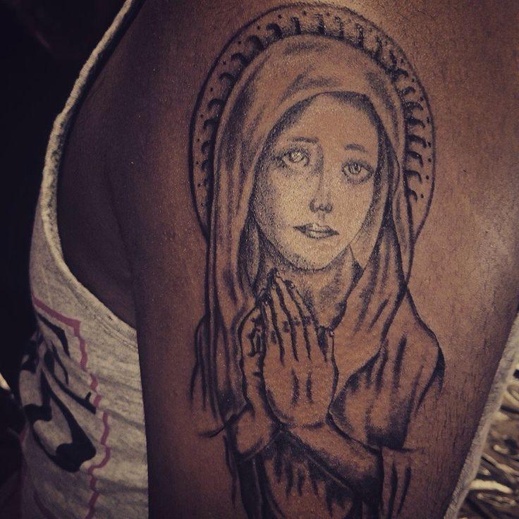 Mother Merry Tattoo.  Artist :Deviant Art Tattoos.