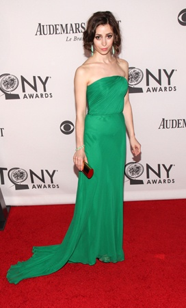 Cristin Milioti  (© Tristan Fuge)Photos, Tristan Fuge, New York Cities, Awards 2012, Carpets Arrival, Red Carpets, New York City, Cristin Milioti, Tony Awards