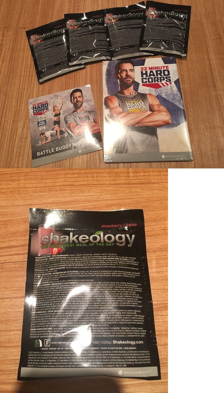 Weight Loss Kits and Accs: New Beachbody 22 Minutes Hard Corps Dvd Set Bonus Battle Buddy And 4 Shakeology -> BUY IT NOW ONLY: $36 on eBay!