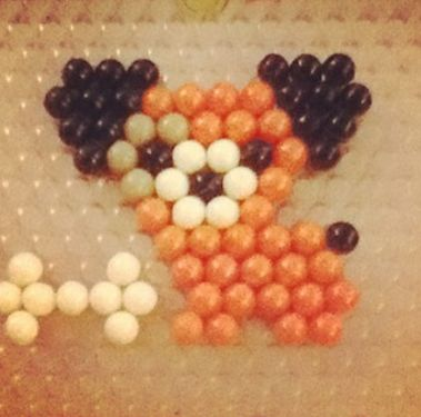 Wow, look at this lovely Aquabeads puppy