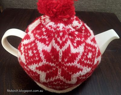 FitzBirch Crafts: Free Nordic Tea Cosy Pattern.