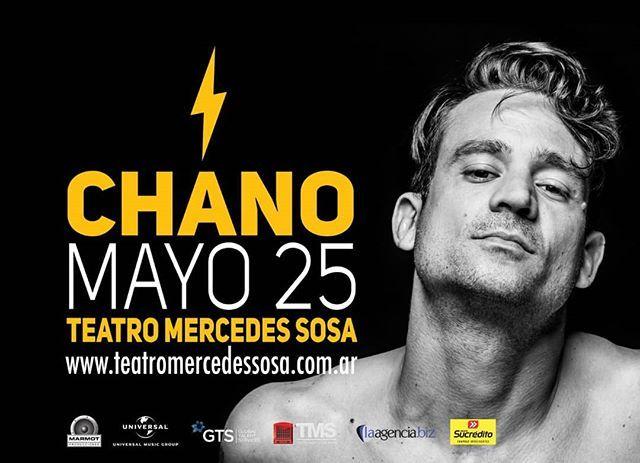 "25 de Mayo ""CHANO""  #TeatroMercedesSosa #Tucuman #Argentina #Mundo . . . #Show #Evento #Prensa #Teatro #Music #Cultura #Culture #Turismo #Travel #Familia #Family #Amigos #Friends #Amor #Chano #Love #Happy #Fun #Like4Like #Followme #Instalike #Photography Toda la info que necesitas la podes encontrar aquí  http://quehacemossalta.com/"