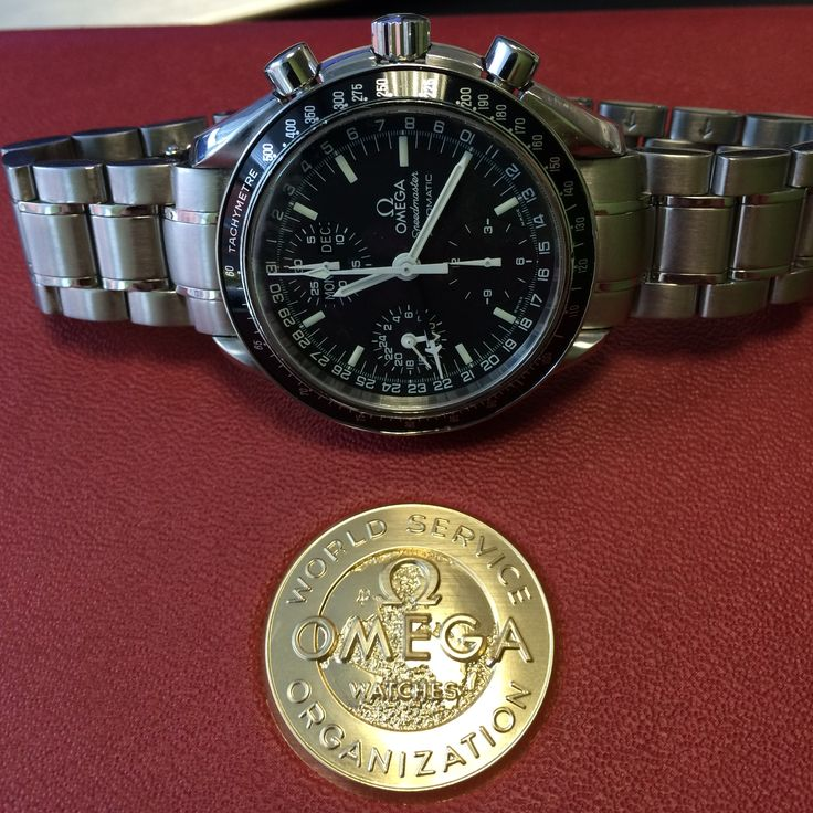 The Omega Speedmaster Day-Date Chrono http://www.globalwatchshop.co.uk/omega-speedmaster-day-date-chronograph-35205000.html?utm_content=buffer6029a&utm_medium=social&utm_source=pinterest.com&utm_campaign=buffer A great looking watch at a low price