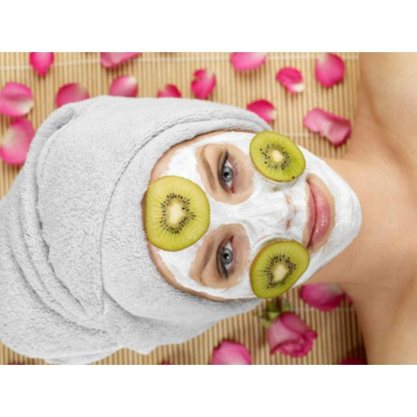 Here Are 2 Easy DIY Face Masks for Unclogging Pores and Fighting Skin... ❤ liked on Polyvore featuring beauty