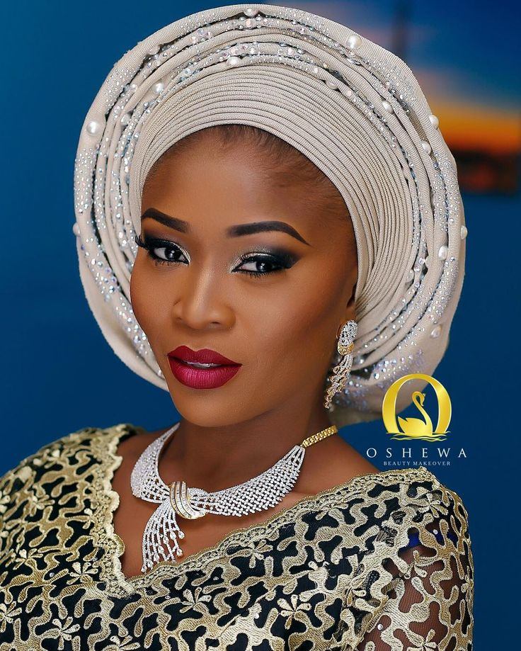 Nigerian Bride's Amazing Makeup Transformation Will Make You Swoon - Wedding Digest Naija