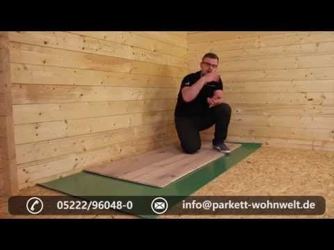 Parkett Auf Holzuntergrund Youtube In 2020 Parkett Holz Boden