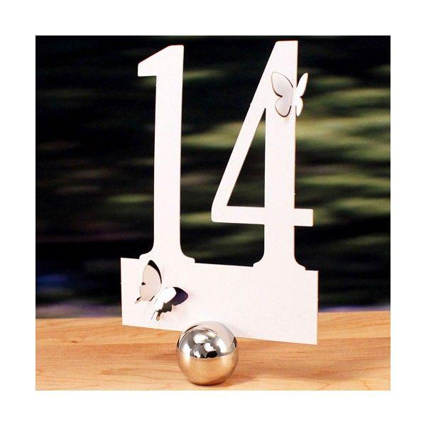 Segnatavolo in carta con taglo laser decorati con eleganti farfalle traforate.  Semplici da usare gia pronte all'uso. Posizionale sul tavolo o su uno stand .  Vendute in confezioni da 24 pezzi .  Paper Weight: 100lb cover / 200 gsm paper  Numeri da 1 a 24   Disponibile altro articolo con numeri da 25 a 28    Misure: 10.16 cm x 12.7 cm (H)    Colori Disponibili: Bianco, Avorio, Rosa, Lavanda  Inserisci nelle note dell'ordine il colore che preferisci o inviaci una mail.            …