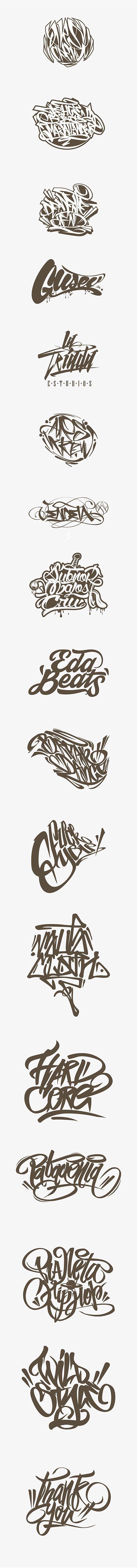Calligraffiti - Lettering on Behance
