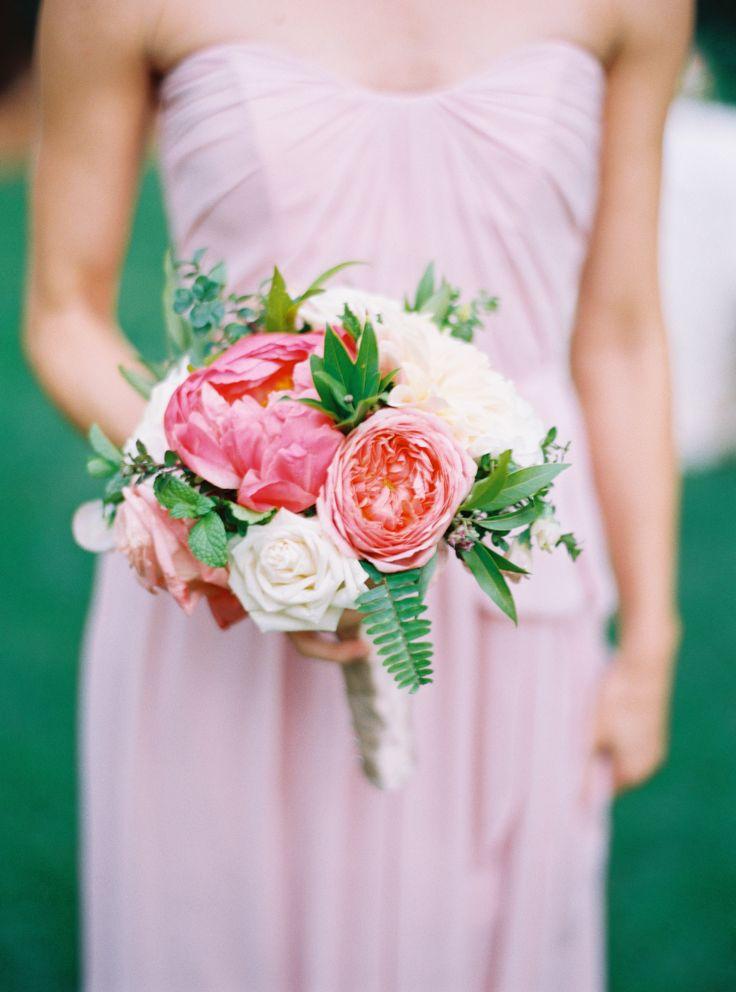 Pretty in Pink: Inspired By Mary Kate + John Luke's Duck Dynasty Wedding: http://www.stylemepretty.com/2015/10/22/pretty-in-pink-inspired-by-mary-kate-john-lukes-duck-dynasty-wedding/