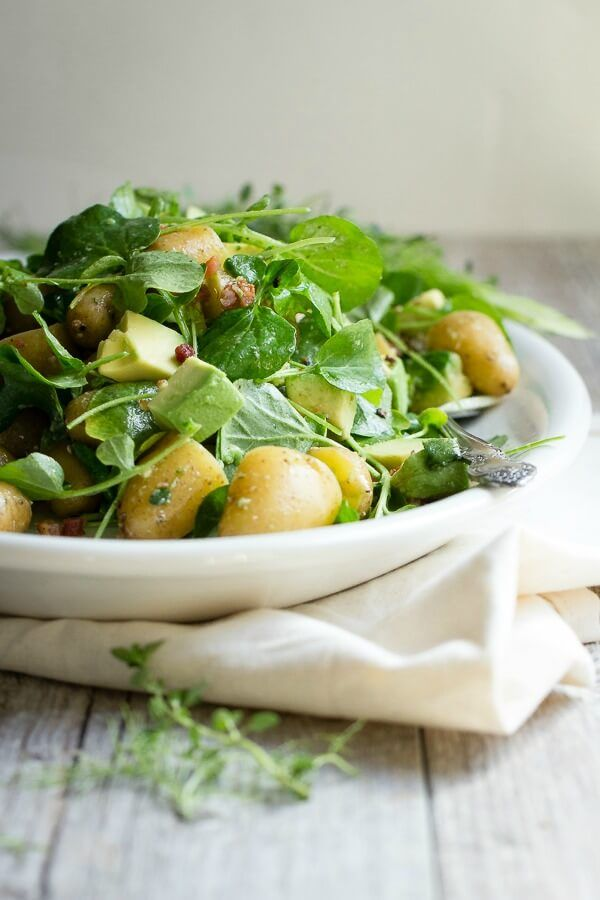 Avocado Potato Salad - Foodness Gracious