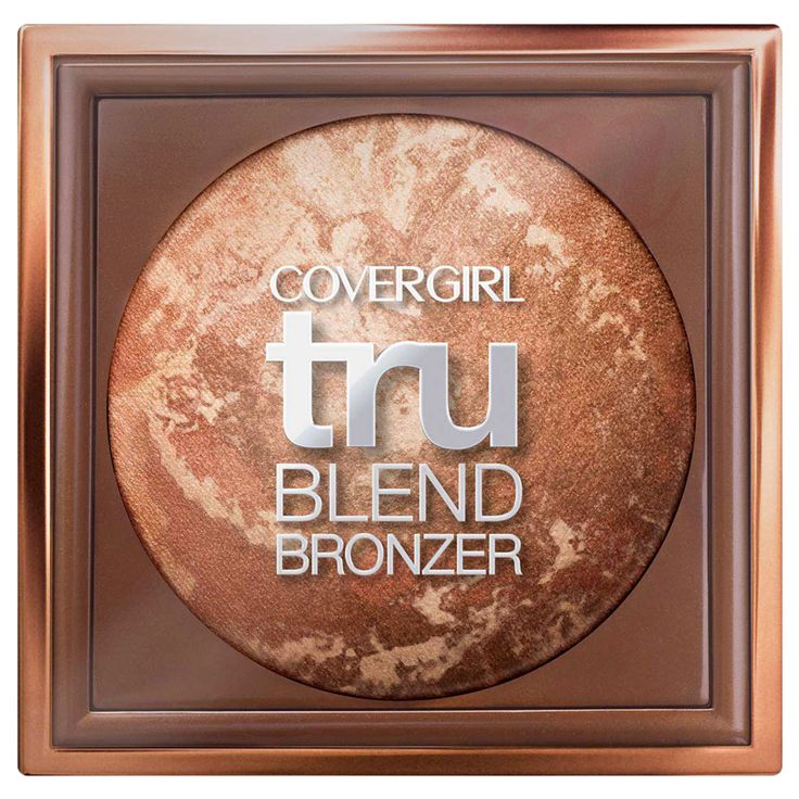 The Best Drugstore Bronzers to Wear Now - CoverGirl Tru Blend Bronzer from InStyle.com