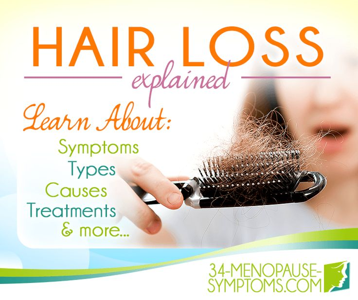 Is your hair falling out more than usual? Hormonal imbalance may be the cause. Learn more about hair loss during menopause.