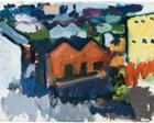 Hills and Buildings, Folsom Street, San Francisco - Robert De Niro, Sr.