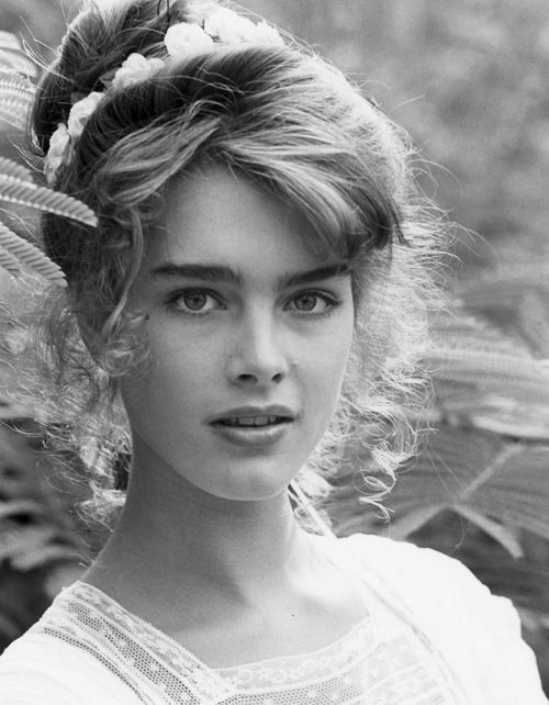 Brooke Shields in the movie Endless Love (1981)