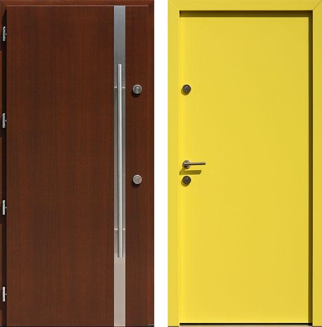 Drzwi wejściowe do domu z katalogu inox wzór 437,1-437,11