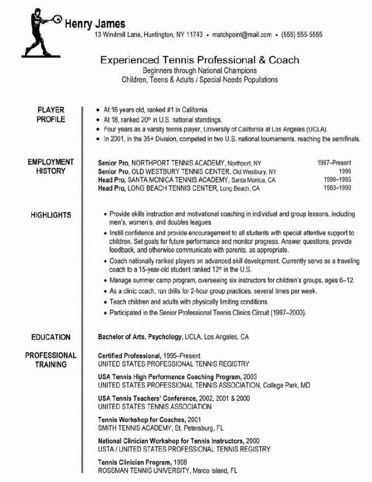 Coach Resume Examples Segmenmouldingsco 11578342801