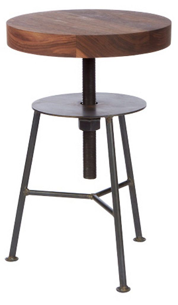 Piston Stool, Walnut | Brand We Love | One Kings Lane