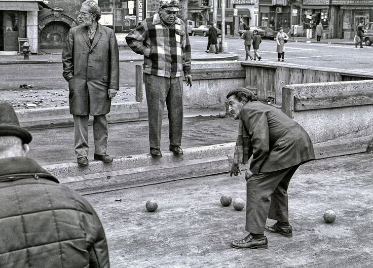 https://flic.kr/p/6paz1G | NYC00019/....Vintage.... Bocce ball  circa 1969 | No one cares about the past.  People forget it and it repeats itself in the most horrible ways.  Its the future that counts and where   we must move towards.  The past is for OLD  FOLKS..........  .echhhh!!!!!! old people......!!!!!!!!!!!!!  Make way for the new and youngins, they really are the ones we must depend on to lead us and move this nation forward?   ( a very scary thought indeed )  Make way for the new…