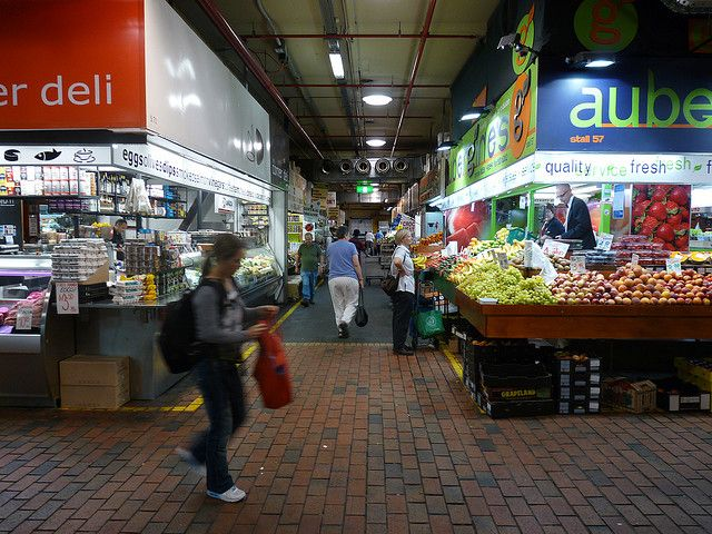 Adelaide's Central Markets are a fantastical land of coffee shops, fruit stalls, bakeries and hawkers all housed in a big old undercover market area. Australia