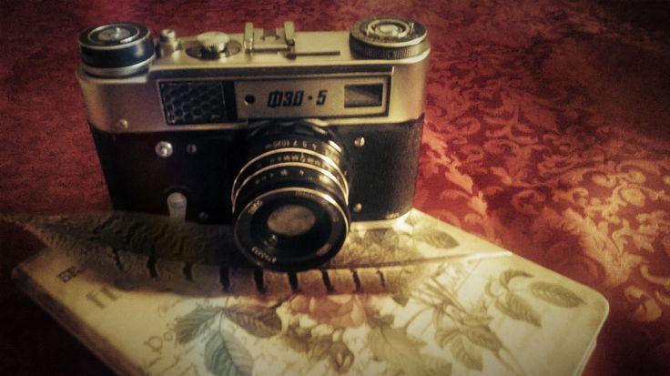photo, old camera, vintage