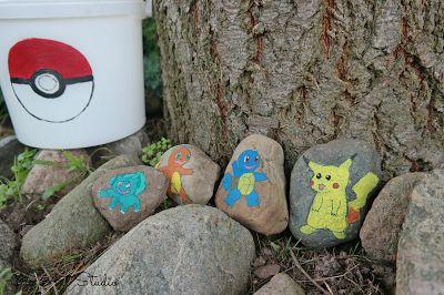 Jak stworzyć własną gre POKEMON GO!   #tutorial #DIY #kamienie #gra #pokemon