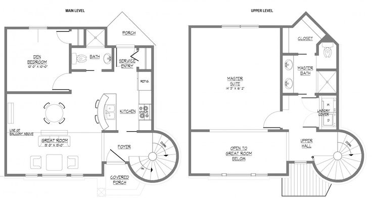 This Floor Plan Features Home Bungalow House Simple Building Make Floor Small Design Draw