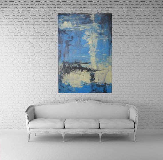 Abstract painting art large 48x30 original abstract art kris gould