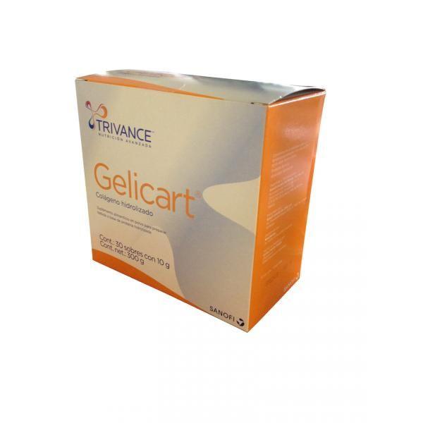 Gelicart suplemento con Colageno hidrolizado precio rebajado sanofi -