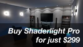 Sketchup 3D Rendering Software |ArtVPS - Shaderlight for SketchUp 3D Rendering Technology >>> Still have to look into this one ...