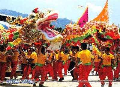 CHINA (Hong Kong) - The Dragon dance