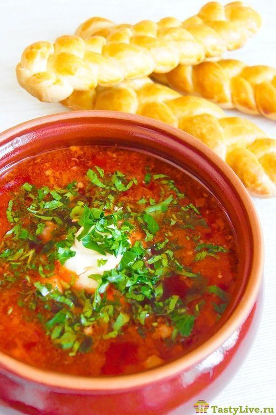 борщ украинский рецепт | Украинские рецепты, Рецепты супов ...